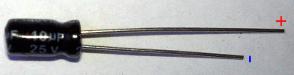 Маркировка электролитического конденсатора