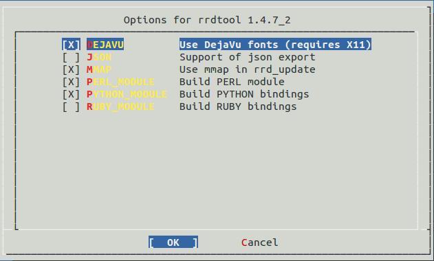 Опции rrdtool