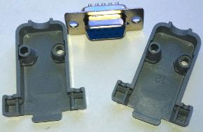 Разъем D-SUB 9 (RS232)