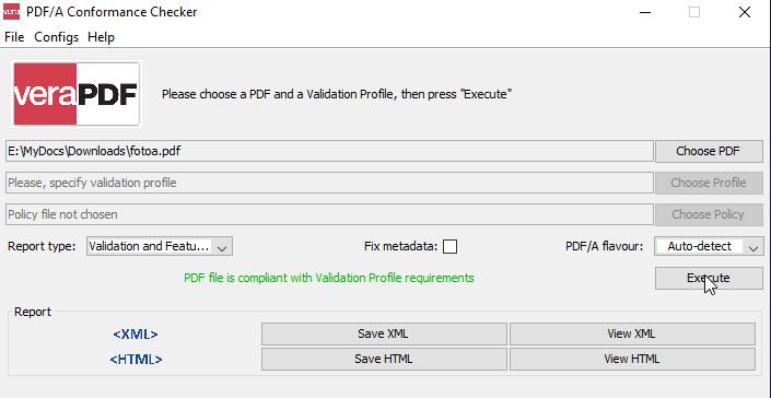 Проверка файлов формата PDF/A в рамках 278-ФЗ