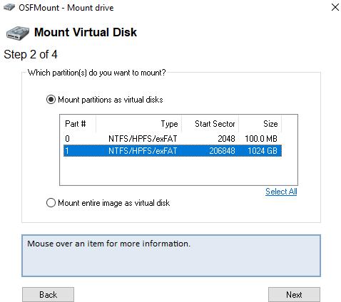 VMWare: монтируем образы виртуальной машины в Windows
