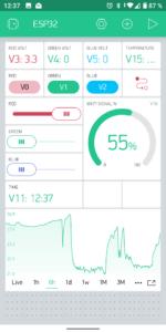 Blynk App Screenshot