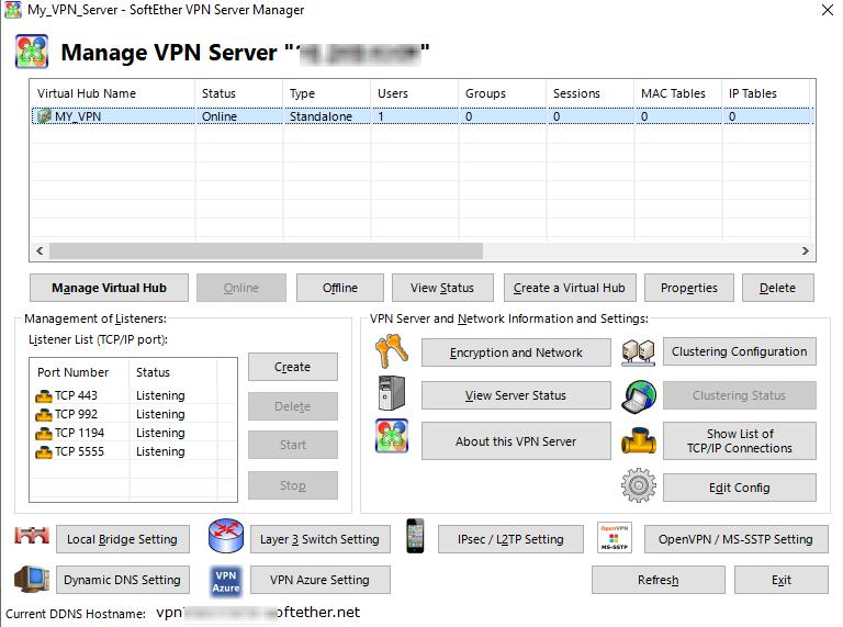 UBUNTU: Устанавливаем VPN сервер SoftEther