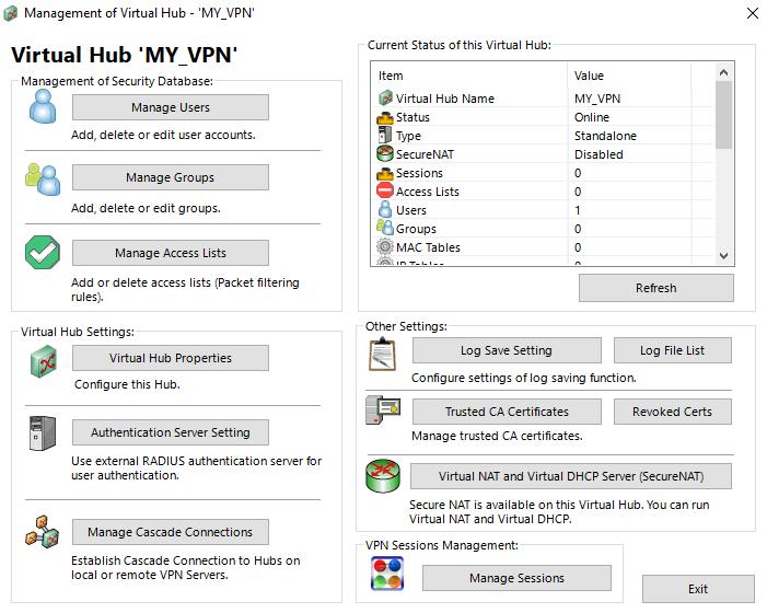 SoftEther Virtual Hub