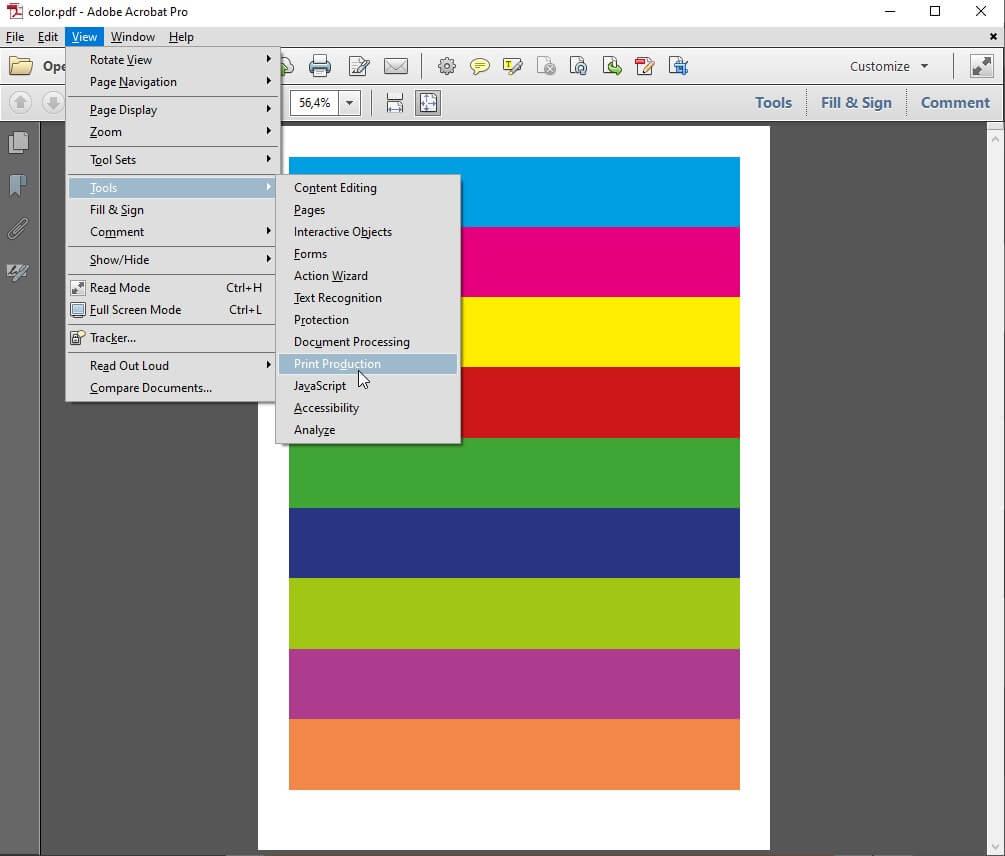 Print Production Adobe Acrobat PDF