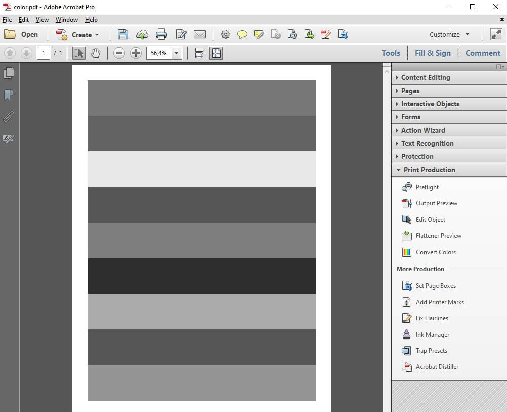 Adobe Acrobat B&W PDF